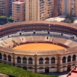 Málaga. La Malagueta. Bullring