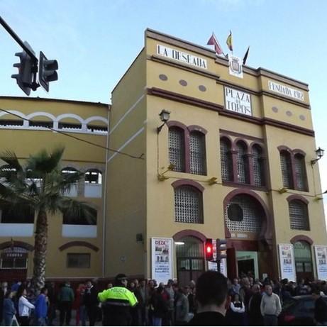 Bullring Cieza. Murcia