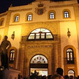 Bullring Espartinas. Sevilla