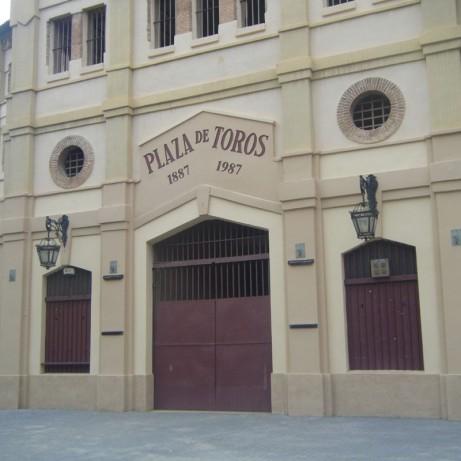 Plaza de toros La Condomina de Murcia. Murcia