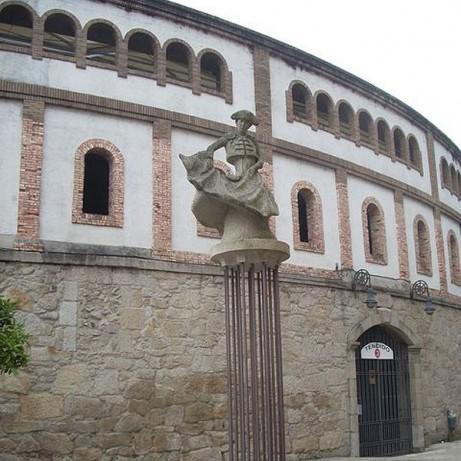 Plaza de toros de Pontevedra. Pontevedra.