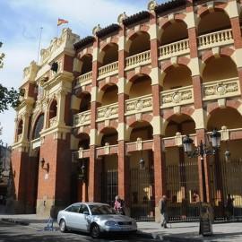 Zaragoza. La Misericordia. Bullring
