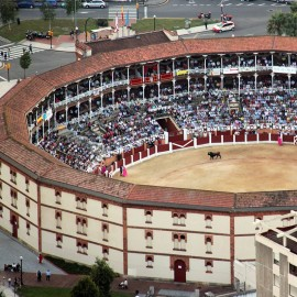 Gijón. El Bibio. Bullring