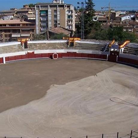 Bullring Barbastro. Huesca