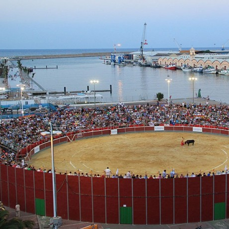 Bullring of Gandía. Valencia