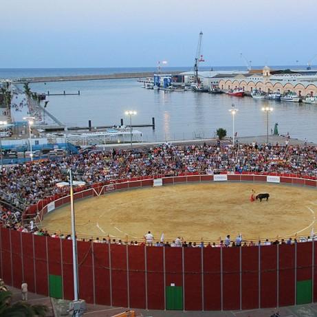 Plaza de toros de Gandía. Valencia