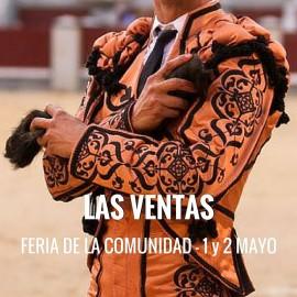 Entradas Toros Madrid - Feria de la Comunidad | Servitoro.com