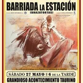 27/05 Barriada La Estación (18:00) Becerrada. PICK UP IN BULLRING
