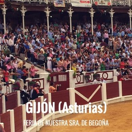 Entradas Toros Gijón- Feria Nuestra señora de Begoña| Servitoro.com