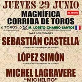 29/06 Segovia (19:15) Toros