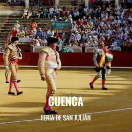 Bullfight ticket Cuenca - San Julian Fair| Servitoro.com