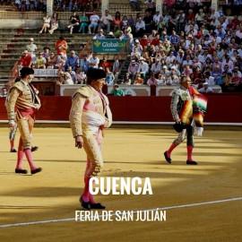 Entradas Toros Cuenca - Feria de San Julian| Servitoro.com