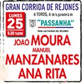 25/09 Vera (17:30) Rejones. RECOGER EN TAQUILLA.