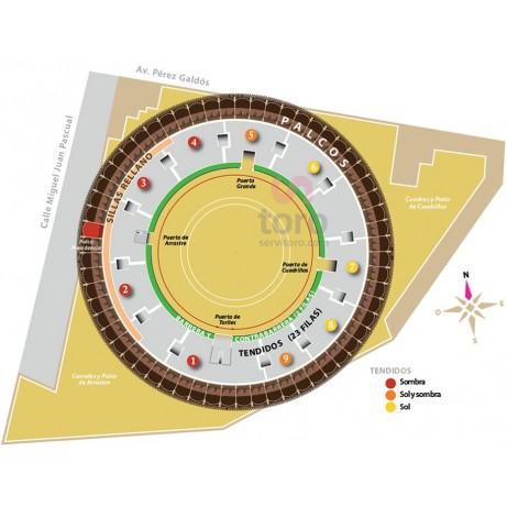 Bullfight ticket Castellón – Feria de la Magdalena