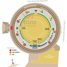 Abono Toros Zaragoza (18:00) Septiembre 29 a octubre 14