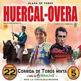 22/10 Huercal Overa (17:00) Toros Mixta Recogida en Taquillas