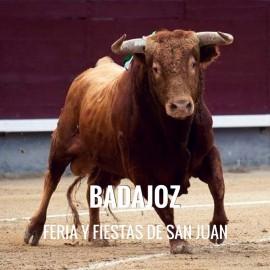 Entradas Toros Badajoz - Feria de San Juan
