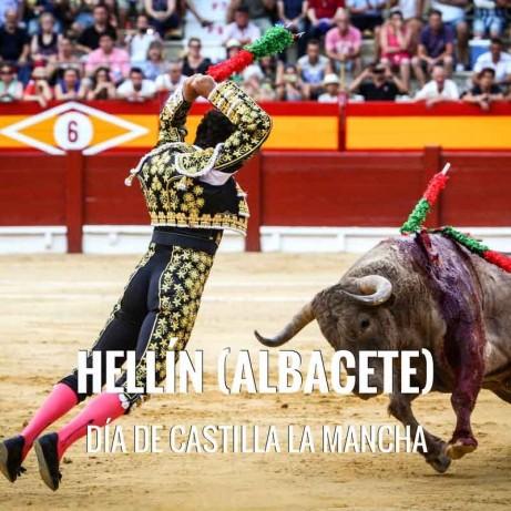 Bullfight ticket Hellín – Castilla La Mancha Day