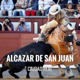 Bullfight tickets Alcazar S. Juan - Bullfighting Fair