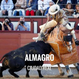 Bullfight ticket Almagro - Bullfighting Fair