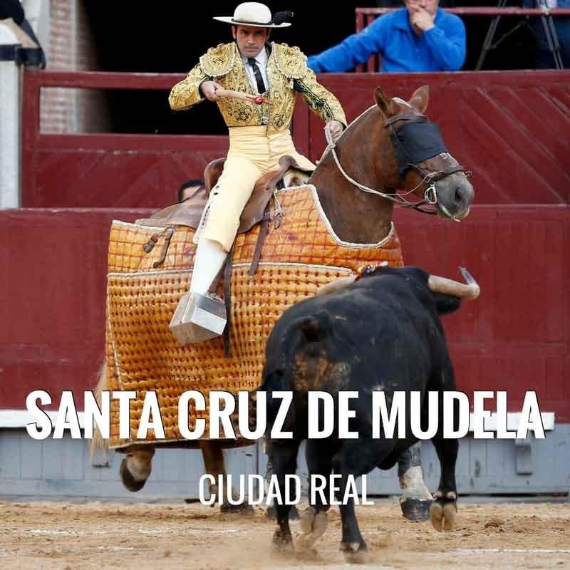 Bullfight tickets Santa Cruz de Mudela for its San Marcos Festivities.
