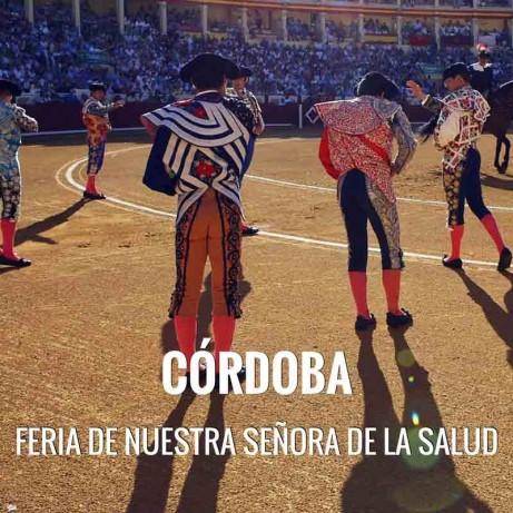 Entradas Toros Córdoba - Feria de Nuestra Señora de la Salud