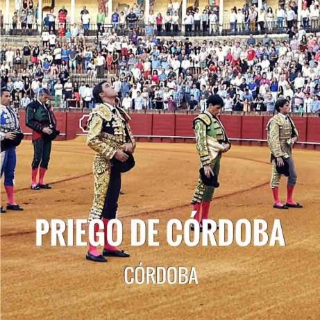 Bullfight tickets Priego de Cordoba - Real Feria de Septiembre