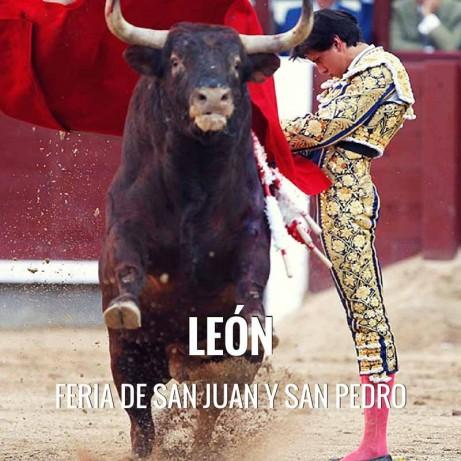 Bullfight Tickets León - Festivities San Juan and San Pedro