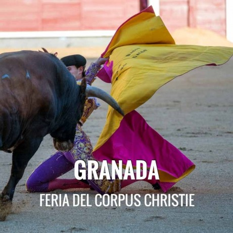 Bullfight tickets Granada – Corpus Christie
