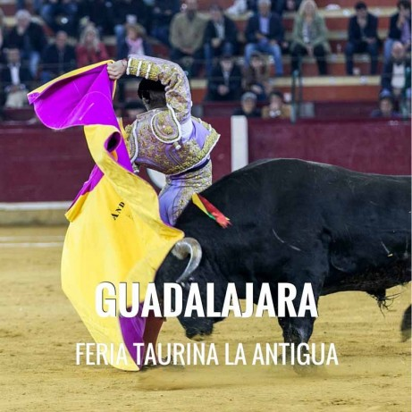 Bullfight tickets Guadalajara – Feria de la Antigua