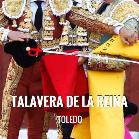 Entradas Toros Talavera de la Reina - Festival Taurino