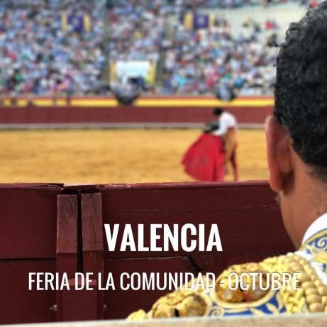 Bullfight ticket Valencia – Feria de Octubre