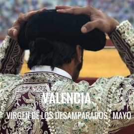 Bullfight ticket Valencia – Virgen de los Desamparados