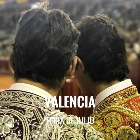 Bullfight ticket Valencia – Feria de Julio