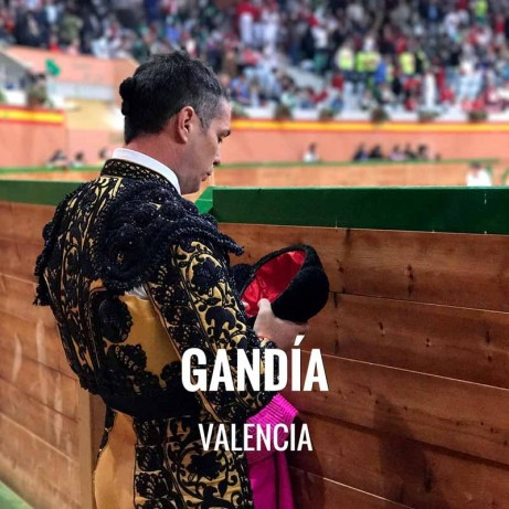 Bullfight ticket Gandía – Virgen del Carmen Festival