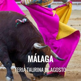 Entradas Toros Málaga - Feria de Agosto 2018