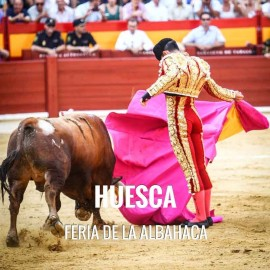 Bullfight tickets Huesca – Bullfighting Fair of La Albahaca 2018