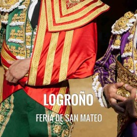 Bullfight tickets Logroño – San Mateo Festivities 2018