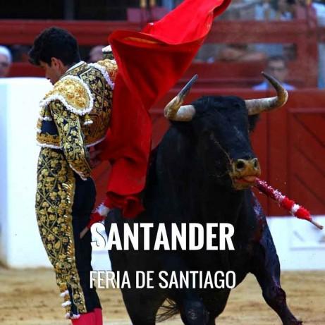 Entradas Toros Santander - Feria de Santiago