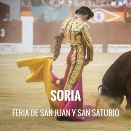 Bullfight tickets Soria – Feria de San Saturio