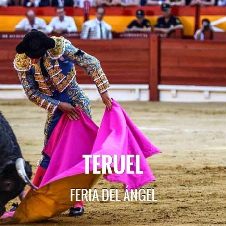 Bullfight Tickets Teruel - Ángel Fair