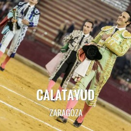 Bullfight ticket Calatayud - San Roque Festival