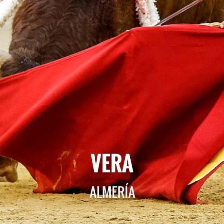 Bullfight ticket Vera – Feria de Vera 2018