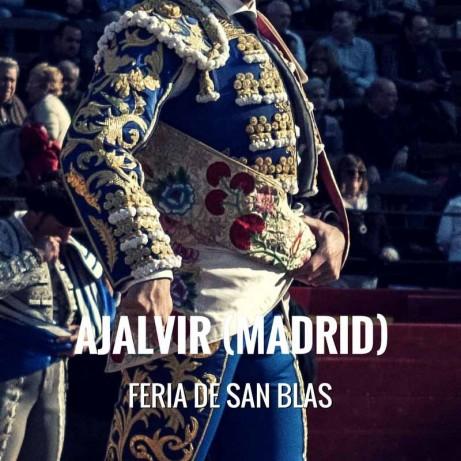 Bullfight tickets Ajalvir – Feria de San Blas