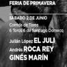 02/06 Antequera (19:00) Toros