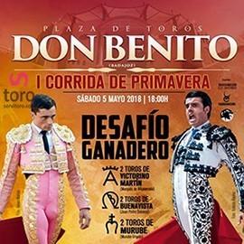 05/05 Don Benito (18:00) Toros