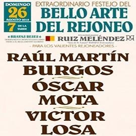 26/08 Almagro ( 19:00) Rejones