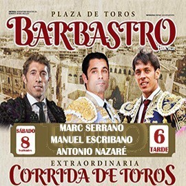 08/09 Barbastro (18:00) Toros