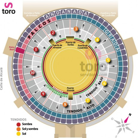 Bullfight ticket Madrid – Feria de Otoño