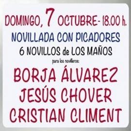 07/10 Valencia (18:00) Novillada